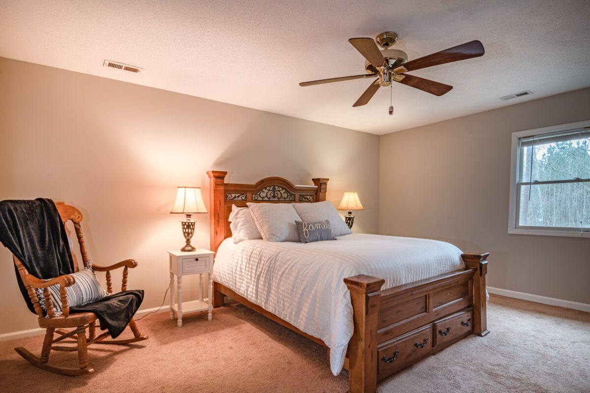 Are Ceiling Fans In Bedrooms Outdated?